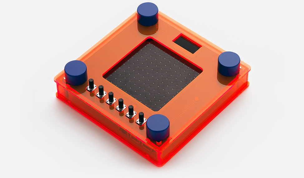 Open NSynth Super orange frame