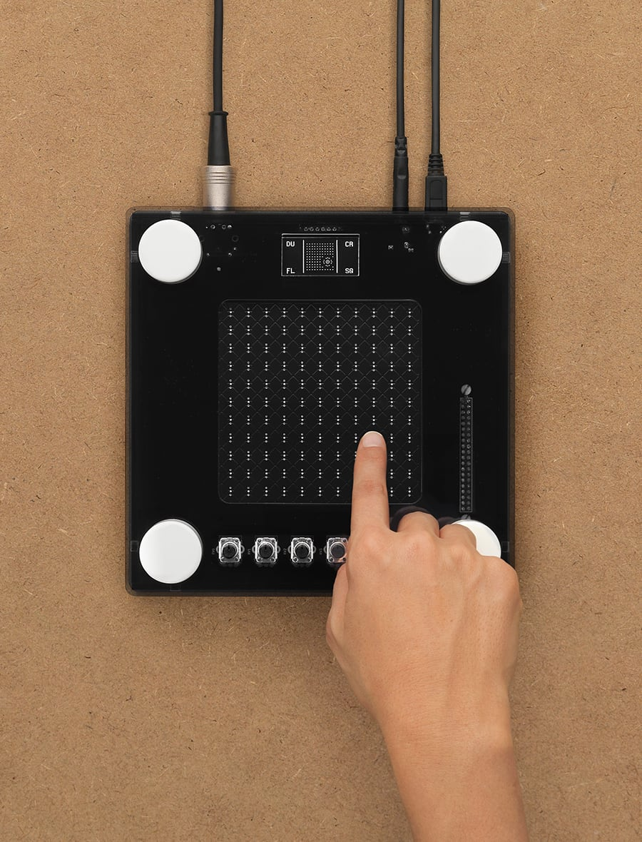 Nsynth Super touch pad